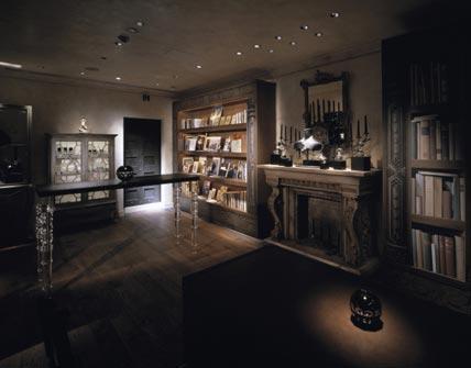 Дизайн антикварного магазина