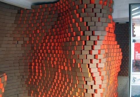 Стены из картона своими руками